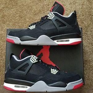 Air Jordan 4 Retro (Bred)